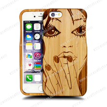 Funky Mobile Phone Case for iPhone 6,Laser Engraving Animal Sex Girl Mobile Phone Case for iPhone 6s