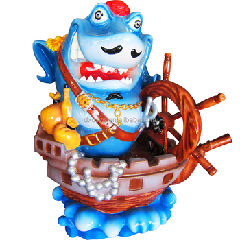 Fiberglass Playground Shark Captain
