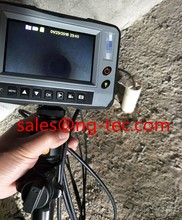 "5.5mm handheld sewer pipeline inspection camera with 4.3""display and 2ways articulating cable"