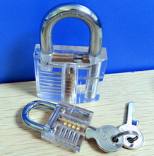 types of transparent padlocks for luggage with clear box wholesale suppliers