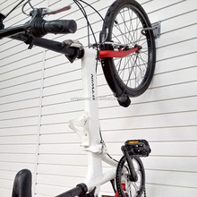Bike hook metal bicycle hook wall mounted rack bike hanging hook for slatwall