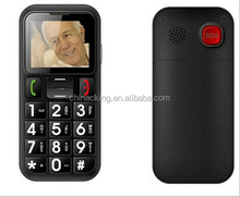 sos button elderly cell phone