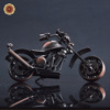 WR 2016 New Year Business Gift Handmade Metal Iron Motorcycle Model Home Decor Ornaments Creative Metal Crafts