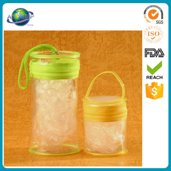 top quality promotional shopping pvc round bottom bag