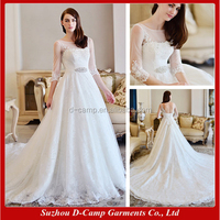 WD-1911 2015 turkish wedding dresses with long sleeves wholesale wedding dresses new york