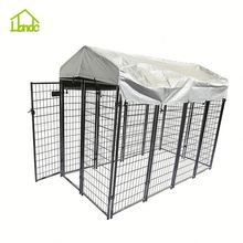Cheap Large Black Modular Dog Kennel