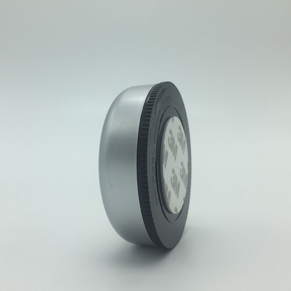 New design 3 led push light COB led mini push light