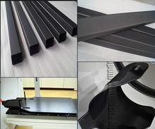 supply Custom cut Carbon Fiber Products by CNC machined carbon
