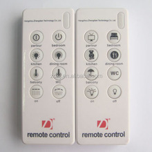 wireless 8 channel remote control for home lights remocon 8 keys