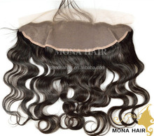Large Quantity Virgin Brazilian Ear to Ear Lace Frontals With Baby Hair
