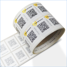 Barcode sticker/hs code for labels/qr code sticker printing