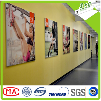 fire retardant france M1 backlit fabric for digital printing sublimation 100% <strong>polyester</strong>