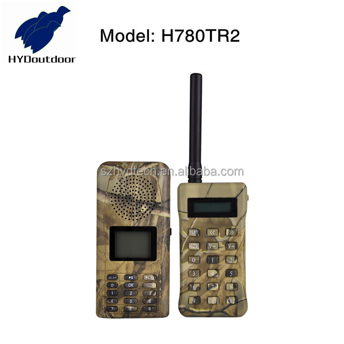 2017 China factory Electronic bird caller for hunting bird with remote h780TR2