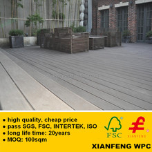 Hot Sale WPC Decking Waterproof Exterior Anti Slip Made In China Wood Plastic Composite WPC Flooring UV Coating