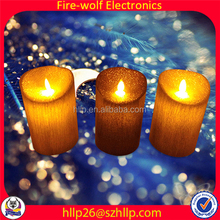 Fashion Candle Manufacturer Light Sensitive Window Candles