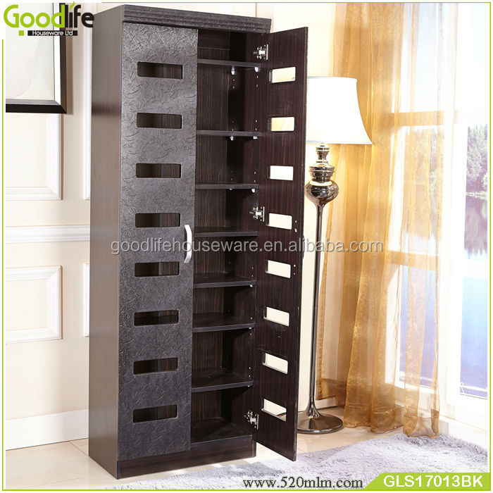 Ventilation shoe cabinet classic furniture with PVC material with 8 layer