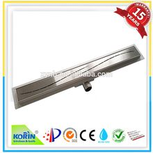 long stainless steel 316 pvc floor drain cover