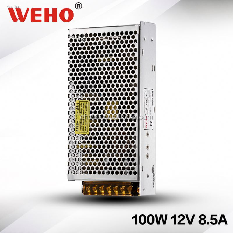 Universal Input hign quality 100W 12V / 48V UL LED POWER SUPPLY/LED driver 12v 100w