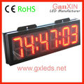 large digital wall clock IP65 countdown race timer