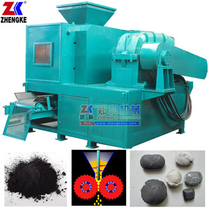 Coal coke charcoal powder briquette press machine