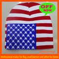 sports jacquard acrylic USA flag beanie