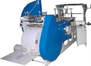 paper bag making machine video