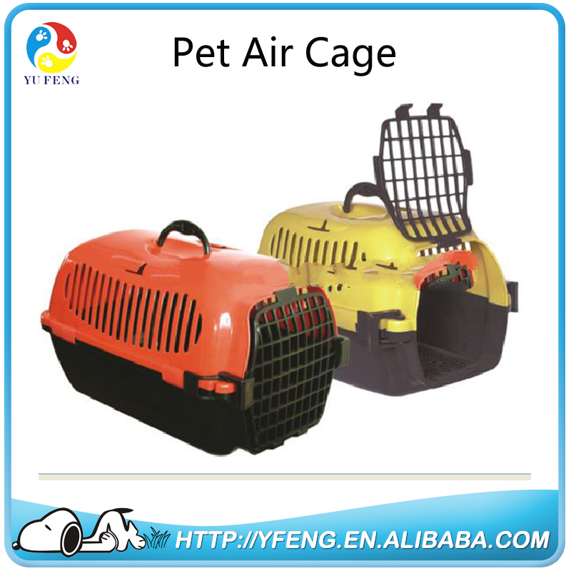 Wholesale Cheap Portable Transport Box Plastic Flight Cage Pet Air Carrier