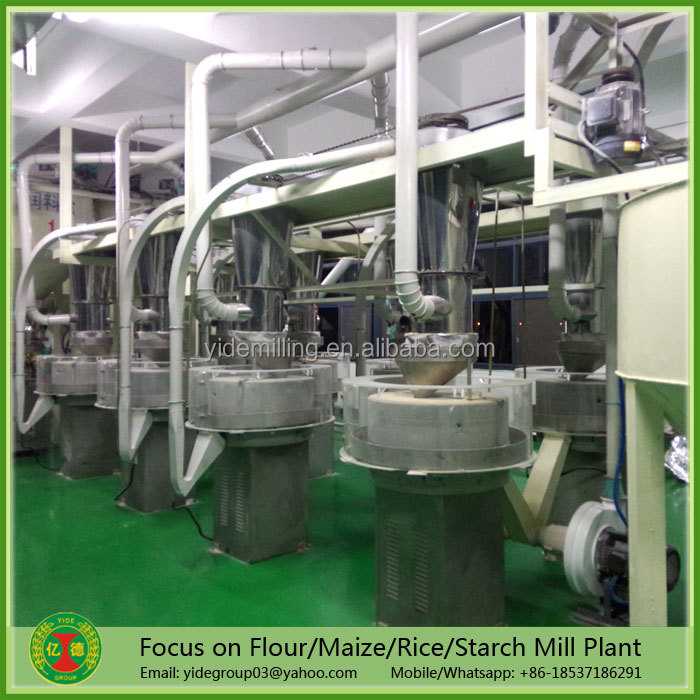Full automatic easy operating and maintance stone grain mill, stone flour mill