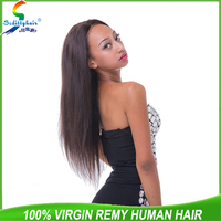 Thick Ends Factory Wholesale SedittyHair 5A Straight Wave Virgin Indian Hair Directly From India