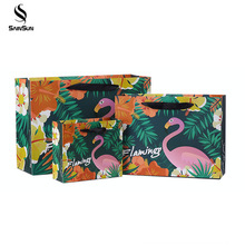 Black China Gift Paper Shoping Carry Bags With Your Own Logo Print Manufacturers