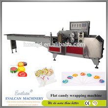 Good candies wrapping machine for flat lollipop