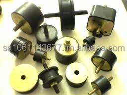 Cylindrical Anti Vibration Rubber Mountings 12 - 50 mm