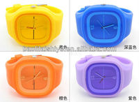 Elegance vogue silicone lady watch details quartz watch accept watches your own design