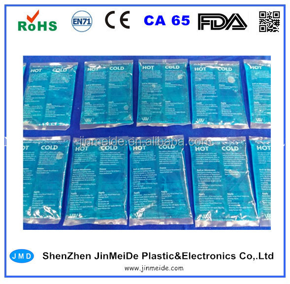Food Grade Hot or Cold Gel Pack / Custom Hot Cold Packs / PE Ice Pack