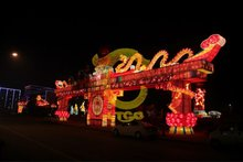 chinese dragon lantern show
