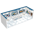 Detian Offer New Design Booth Display Exhibition Stand