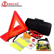 28 pcs Auto Roadside Safety Tools Bag Car Emergency Tool Road Assistance Kit
