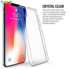 Slim tpu case for iphone 8 mobile phone shell,soft and clear cell phone case wholesale