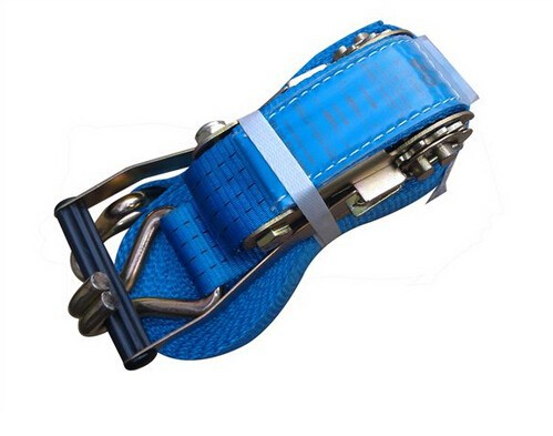 heavy duty ratchet tie down strap /lashing straps/load securing straps/ratchet tie down safety belt