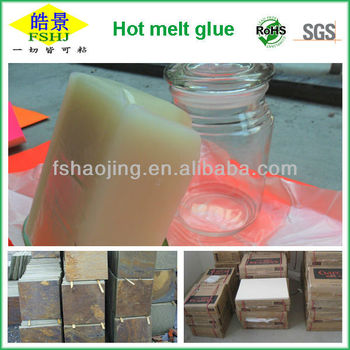 PSA Hot Melt Adhesive for Ceramics