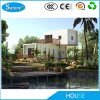 Sandwich Panel Expandable Container House / Living House Container For Sale