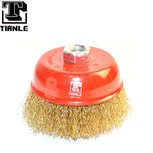 "TIANEL high quality 4"" steel wire wheel wire cup brush"