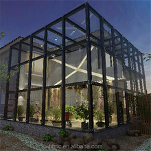 Newest style aluminum sunrooms & glass houses with favourable price and well service