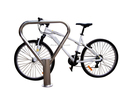 2 Bikes Stainless Steel Bike Parking Bollard Stand
