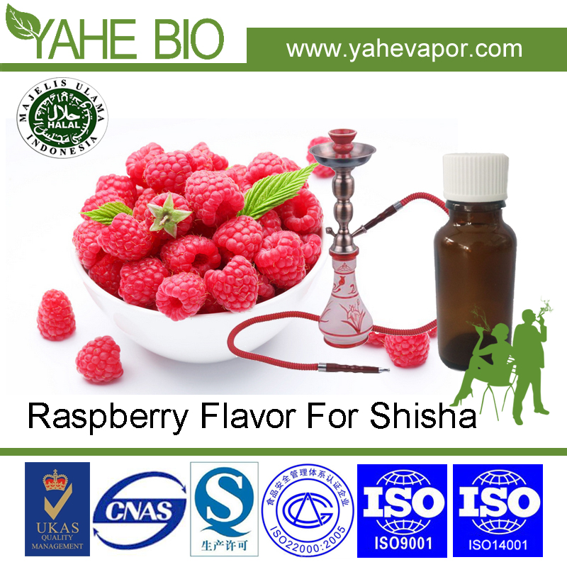 High concentrated hookah Raspberry flavors adding rate 10%