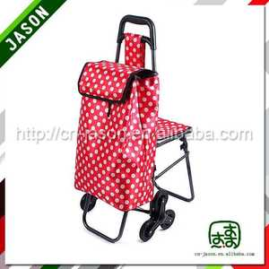 folding shopping trolley cart america style sholley shopping trolley