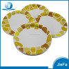 Good Quality New Design Kids Cups Birthday Paper Plates and Food Grade Golden Paper Plate Tray
