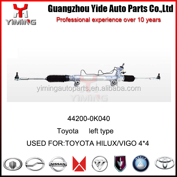 power steering gear rack for TOYOTA HILUX VIGO 4wd 44200-0K040 ,LHD