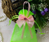 16cm*20cm 23 Colors 6 Sizes In Stock Customized Cheap Wholesale Jewelry Organza Bags