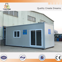 Prefab steel house 20ft container house in low price